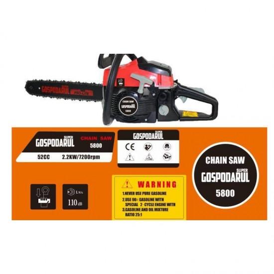 Drujba Benzina 1 Lama, 2 Lanturi + Ulei  G0S-5800
