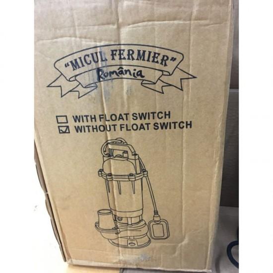 Pompa pentru Apa Murdara din Fonta cu Cutit Tocator 3150 W